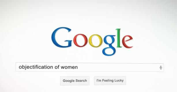 cosificacion de las mujeres en google